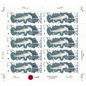 Sharks of Namibia Full Sheet