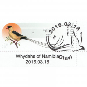 Whydahs of Namibia Single Set