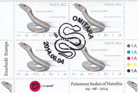 Snakes of Namibia