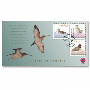 Snipes of Namibia FDC