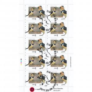 Barbets of Namibia Full Sheet