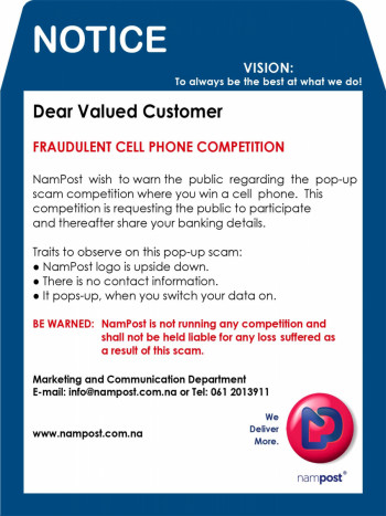 Fraudulent Cellphone Competition