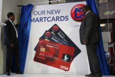 Hon Stanley Simataa inaugurates new  NamPost Saving Bank SmartCard