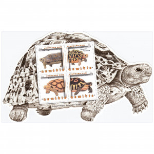 Tortoises of Namibia Minisheet