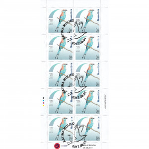 Rollers of Namibia Full Sheet