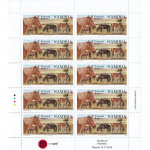 Reprint Wild Horses Full Sheet