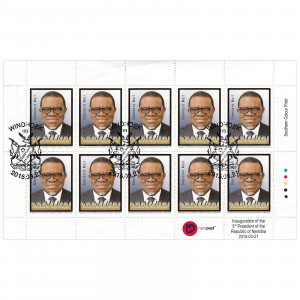 3rd President of Namibia Full Sheet