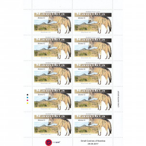 Small Canines of Namibia Full Sheet