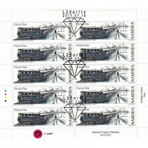 Diamond Trains of Namibia Full Sheet