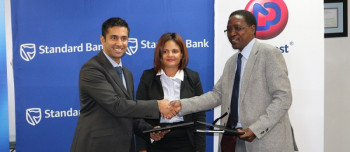 NamPost and Standard Bank signed an agreement