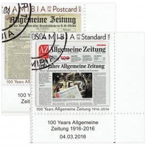 100 Year Allgemeine Zeitung