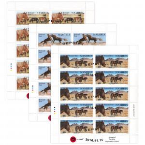 Reprint Wild Horses Full Sheet