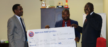 NamPost sponsored My Namibia Song Project