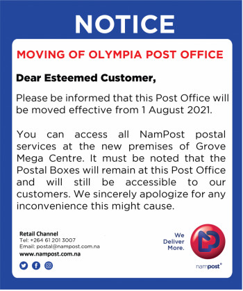 Closure / Relocating of Olympia Post Office