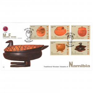 Traditional wooden vessels FDC